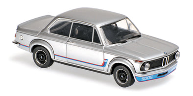 Minichamps - MAXICHAMPS 1/43 BMW 2002 TURBO - 1973 - SILVER #940022200