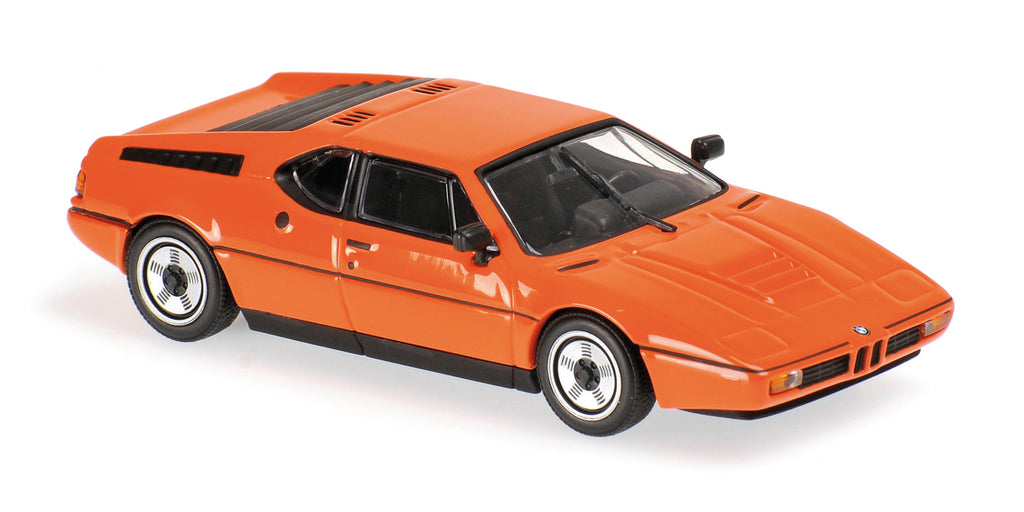 Minichamps - MAXICHAMPS 1/43 BMW M1 - 1979 - ORANGE #940025020