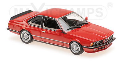 Minichamps - MAXICHAMPS 1/43 BMW 635 CSI (E24) - 1982 - RED #940025122