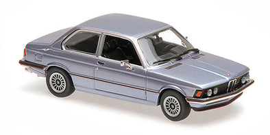 Minichamps - MAXICHAMPS 1/43 BMW 323I 1975 – LIGHT BLUE METALLIC