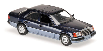Minichamps - MAXICHAMPS 1/43 MERCEDES-BENZ 230E - 1991 - BLUE METALLIC #940037001