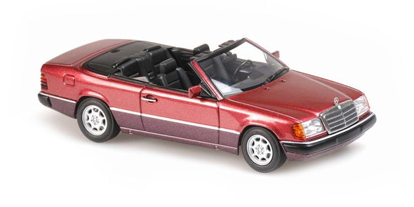 Minichamps - MAXICHAMPS 1/43 MERCEDES-BENZ 300 CE - 24 (A 124) - 1991 - RED METALLIC