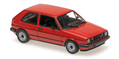 Minichamps - MAXICHAMPS 1/43 VOLKSWAGEN GOLF GTI - 1980 - RED #940055170