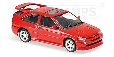 Minichamps - MAXICHAMPS 1/43 FORD ESCORT COSWORTH 1992 – RED