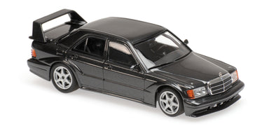 Minichamps - MAXICHAMPS 1/43 MERCEDES-BENZ 190E 2.5-16 EVO2 - 1990 - BLUE-BLACK METALLIC #940923400