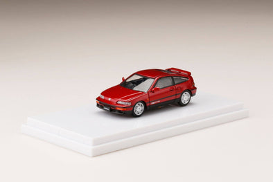 Hobby Japan 1/64  HondaCR-X SiR (EF8) Red Pearl - HJ641005R