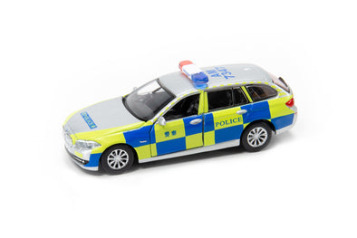 Tiny City 110 Die-cast Model Car - BMW 5 Series F11 HK Police (Traffic) 寶馬5系F11 交通部警車  (AM7374) -  ATC64248