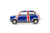 Tiny City 154 Die-cast Model Car - Mini Cooper Union Jack (Blue) - ATC64544