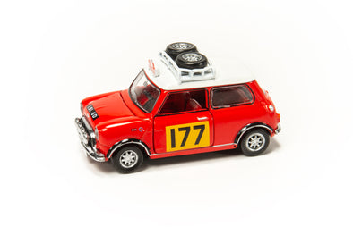 Tiny City 177 Die-cast Model Car - Mini Cooper Rally #177 -  ATC64546