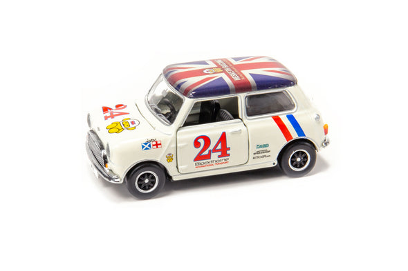 Tiny City 155 Die-cast Model Car - Mini Cooper Racing #24 - ATC64604