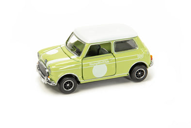 Tiny City Die-cast Model Car - Mini Cooper Mk 1 Young Mini Club HK - ATC64639