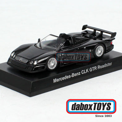 Kyosho 1:64 Mercedes Benz CLK GTR Roadster Black