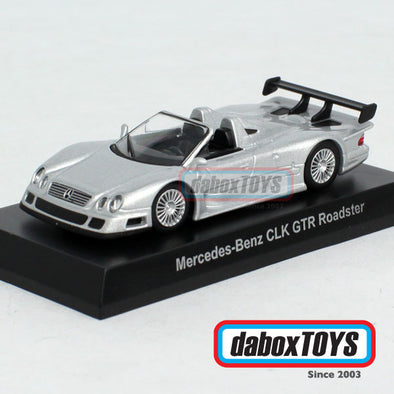 Kyosho 1:64 Mercedes Benz AMG CLK GTR Roadster Silver