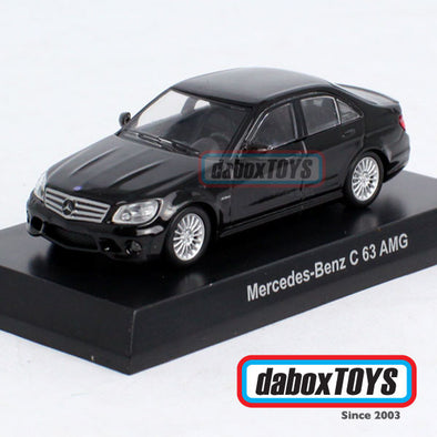 Kyosho 1/64 Mercedes Benz C63 AMG Black