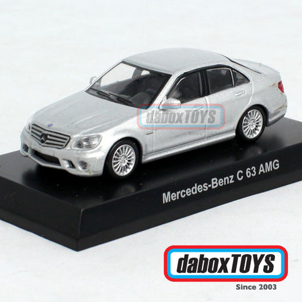 Kyosho 1:64 Mercedes Benz  C 63 AMG Silver