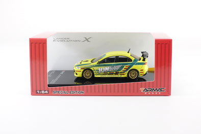 *LIMITED 3 PER PERSON -  Tarmac Works Hobby64 Special Edition - Mitsubishi Evo X Tuned By JUN - T64-004-JUN