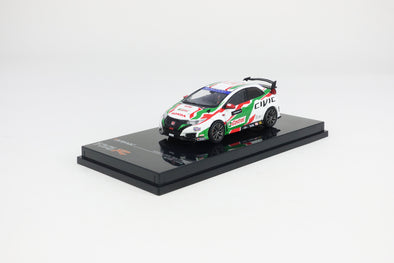 Tarmac Works Hobby64 Honda Civic Type R FK2 Touring Car Livery - T64-003-WTCC