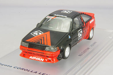 "ENIF 1/43 1985 Toyota Sprinter Trueno N2 specifications 1986 custom ""ADVAN"" #25 - #ENIF0039"