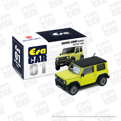 ERA CAR 01 1/64 SUZUKI JIMNY SIERRA - Kinetic yellow