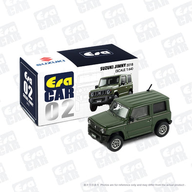 ERA CAR 02 1/64 SUZUKI JIMNY - Jungle Green