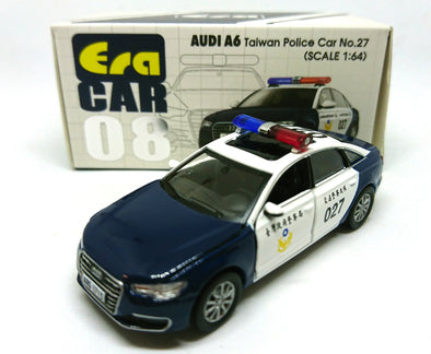 ERA CAR 08 1/64 AUDI A6 Taiwan Police Car No.27