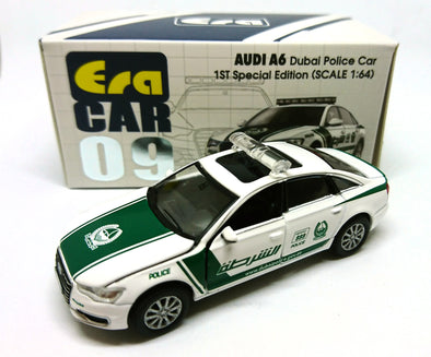 ERA CAR 09 1/64 AUDI A6 Dubai Police Car (1ST Special Edition)