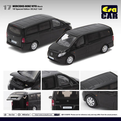 ERA CAR 17 1/64 Mercedes-Benz VITO BLACK (1ST special edition)