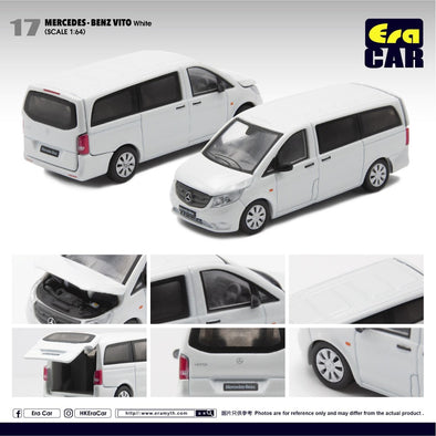 ERA CAR 17 1/64 Mercedes-Benz VITO white