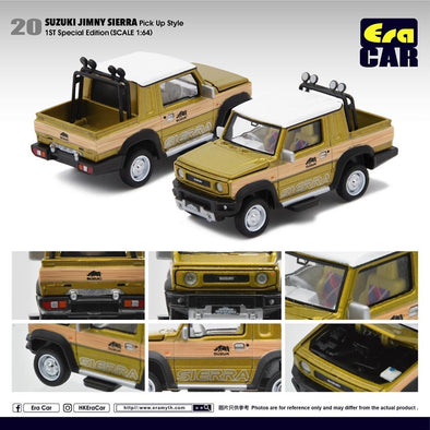 ERA CAR 20 1/64 - Suzuki Jimny Sierra (Pike Up Style)1st Special Edition