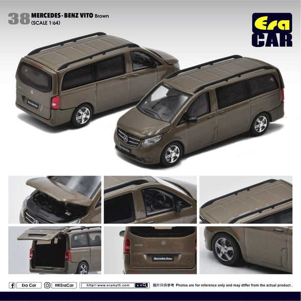 ERA CAR #038 Mercedes Benz Vito (Brown)
