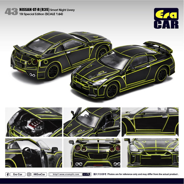 ERA CAR 043 Nissan GT-R(R35) Smart Night Livery (1st Special edition )
