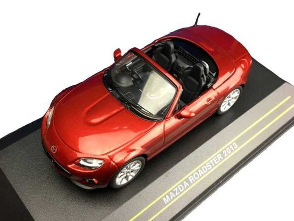 First43 1/43 2013 Mazda Roadster, Cooper Red - F43-067