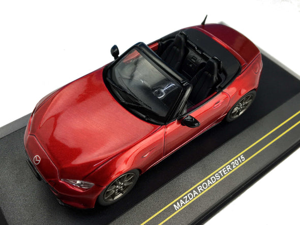 First43 1/43 2015 Mazda Roadster, Metallic Red - F43-069