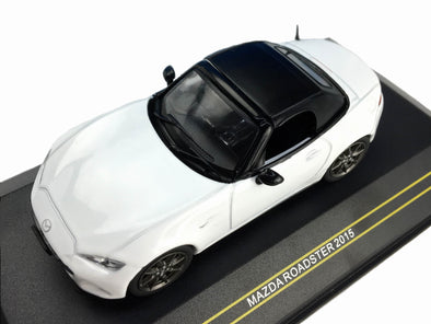 First43 1/43 2015 Mazda Roadster, Crystal White - F43-070