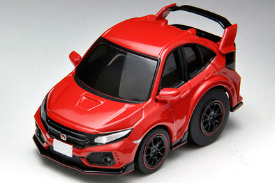Tomica Chor Q Zero Honda Civic Type-R FK8 - RED #Z-64b