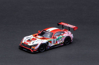 GoodSmile Racing - Spark 1/64 Good Smile Hatsune Miku AMG 2017 SPA24H Ver. - GR84239