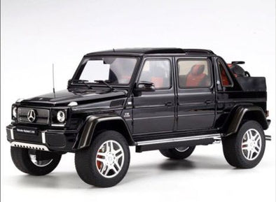 GT Spirit 1/18 Mercedes Benz Maybach G650 W463 Landaulet Black Metallic - GT721