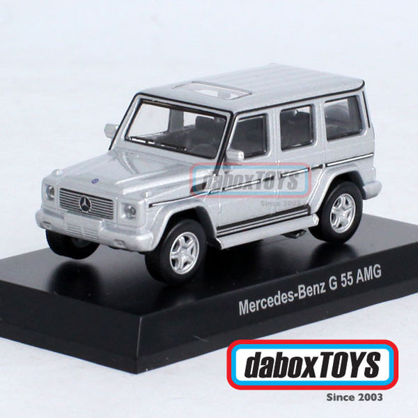 Kyosho 1/64 Mercedes Benz G55 AMG Silver