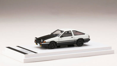 Hobby Japan 1/64 Toyota SPRINTER TRUENO GT APEX (AE86) Open Retractable Headlights / Carbon Bonnet - HJ641008LCWK