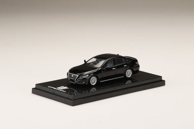 Hobby Japan 1/64 Toyota CROWN 2.5L RS advance CUSTOMIZED VERSION Black - HJ641009CBK