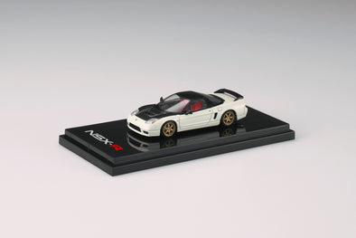 Hobby Japan 1/64 Honda NSX-R (NA2) Carbon Front Cowl / Customized Ver. Championship White