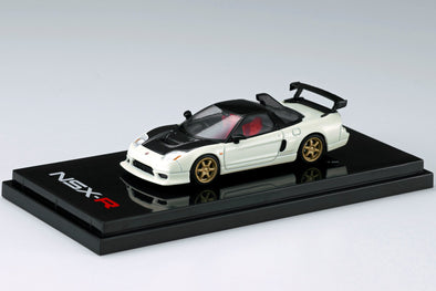 Hobby Japan 1/64 Honda NSX-R GT (NA2) GT-Wing / Customized Ver. Championship White