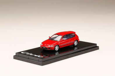 Hobby Japan 1/64 Honda CIVIC EG6 SiR-Ⅱ Milano Red - HJ641017AR