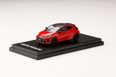 "Hobby Japan 1/64 Toyota GR YARIS RZ ""High-performance"" Red"