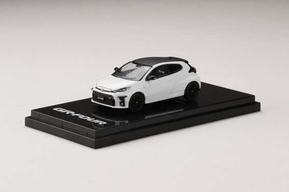 "Hobby Japan 1/64 Toyota GR YARIS RZ ""High-performance"" White"
