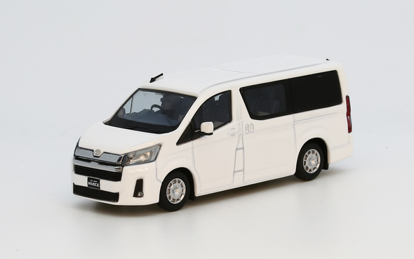 Model1 1/64 Toyota Hiace 300 (White) - C33121