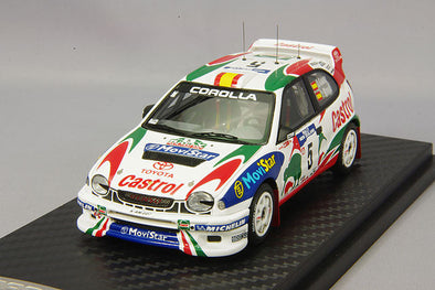 Ignition Models 1/43 Toyota Corolla WRC (#5) 1998 New Zealand - IG0150