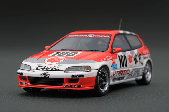 Ignition Models 1/43 出光 MOTION 無限 HONDA CIVIC (#100) 1993 JTC - IG0451