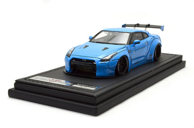 Ignition Models 1/43 1:43 LB-WORKS GT-R R35) Light Blue - IG0783