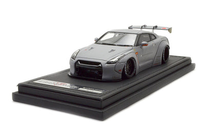 Ignition Models 1/43 1:43 LB-WORKS GT-R R35) Matte Gray - IG0786